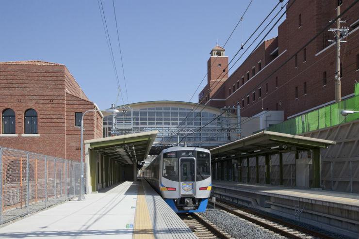 南海電鉄 和歌山大学前駅|施工実績|錢高組